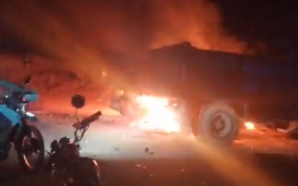 Explosión en Tibú