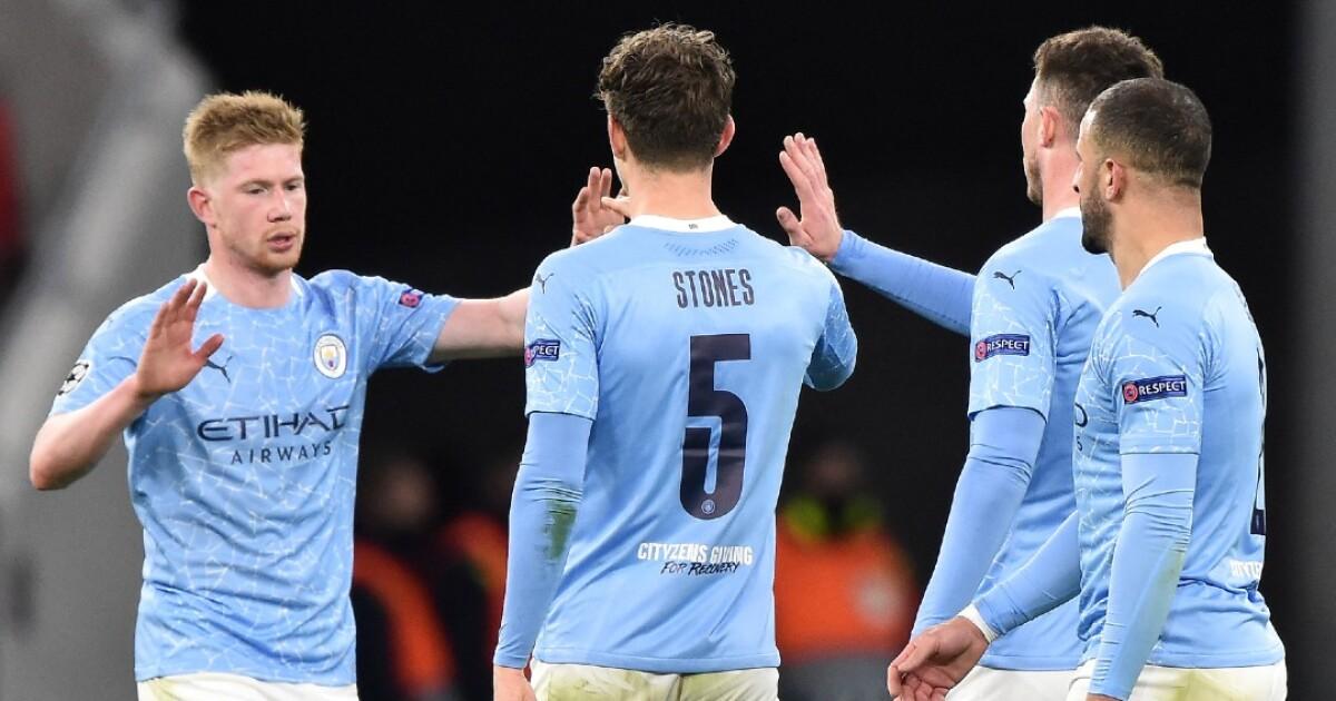 El Manchester City no se complicó: venció 2-0 al Monchengladbach y está en cuartos de Champions