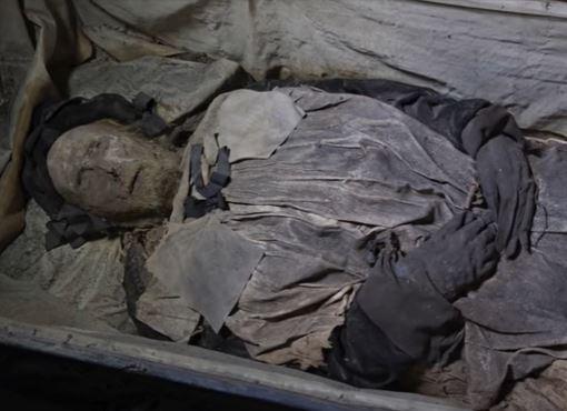 momia del obispo Peder Winstrump