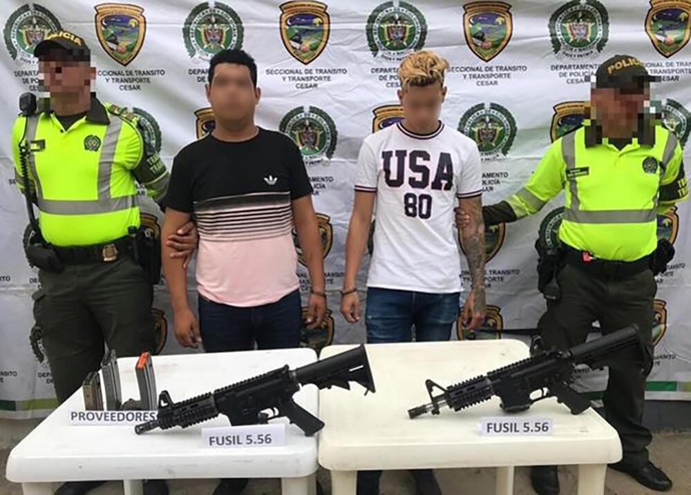 323494_BLU Radio. Captura de venezolanos en Valledupar / Foto: Policía