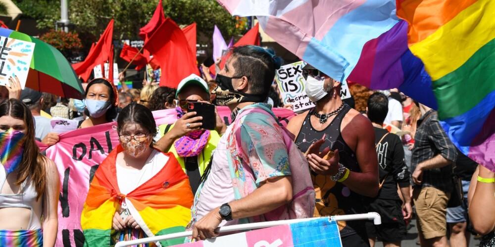 Marcha de orgullo LGBTIQ+