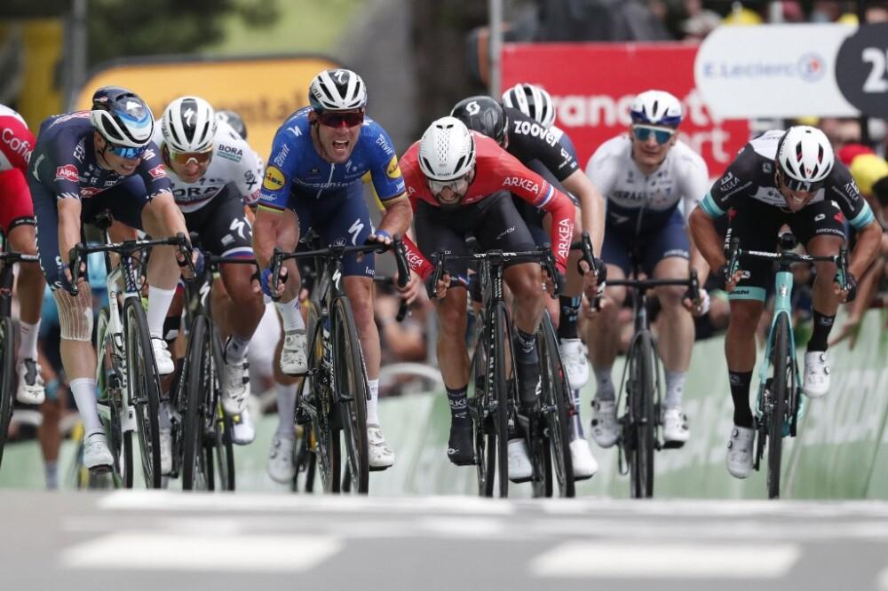 Mark Cavendish se llevó la cuarta etapa del Tour de Francia