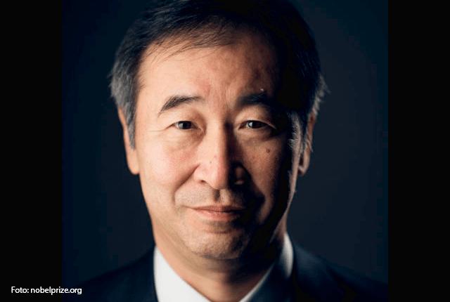 El japonés Takaaki Kajita recibió el premio en 2015. Foto: nobelprize.org