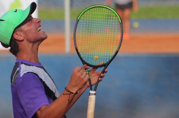 Thomas Cardona, tenista colombiano.