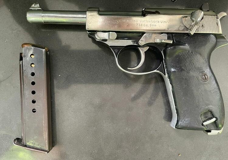 Armados con una reliquia, portaban pistola de la Segunda Guerra Mundial y los cogieron en Cali