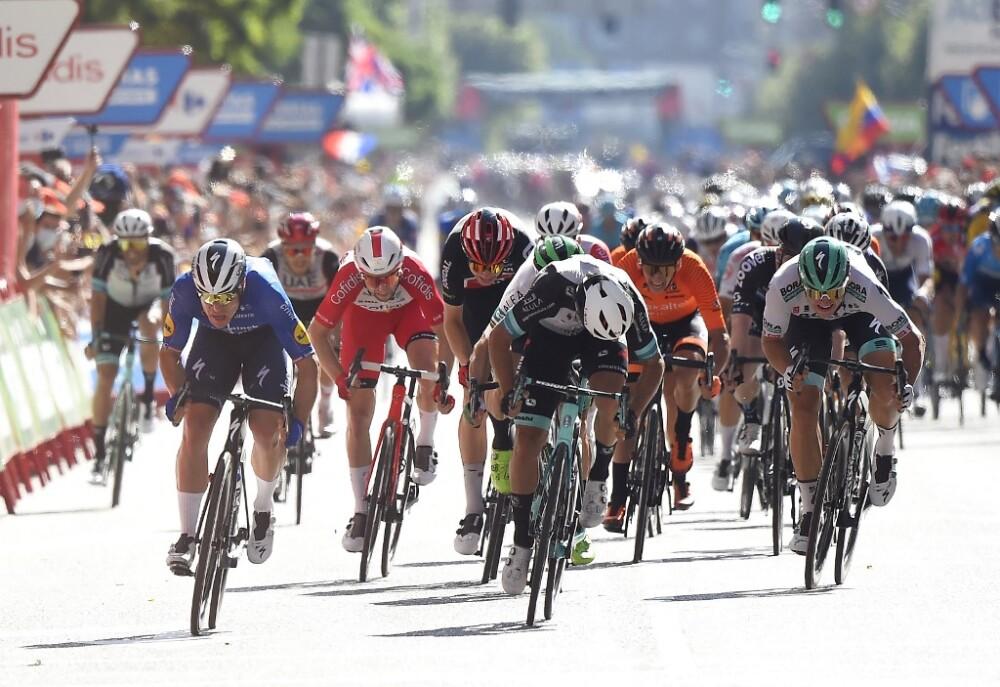 Remate de la etapa 4 de la Vuelta a España