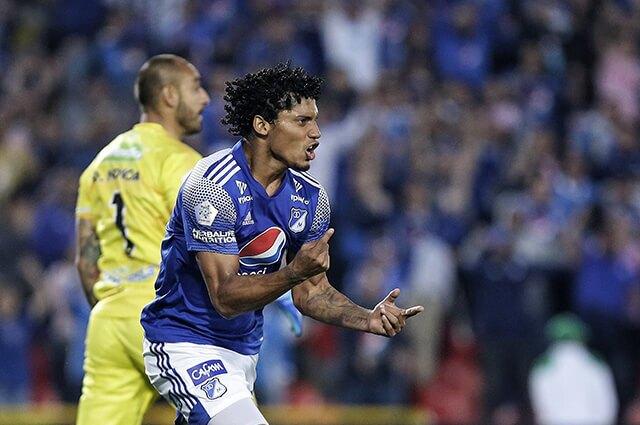 332268_Juan Carlos Pereira, jugador de Millonarios
