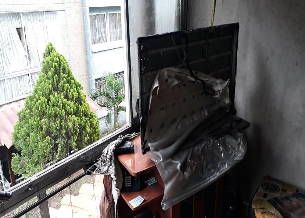 351132_BLU Radio. Incendio Bucaramanga / Foto:Suministrada