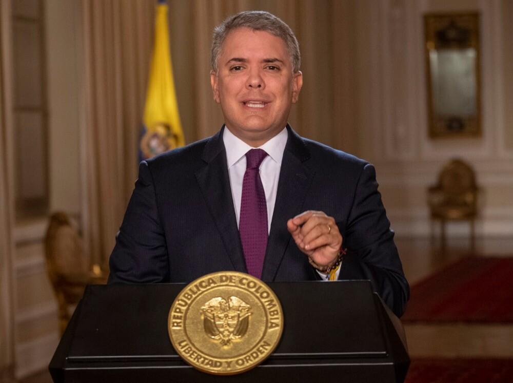 346038_Blu Radio. Iván Duque. Foto: Presidencia