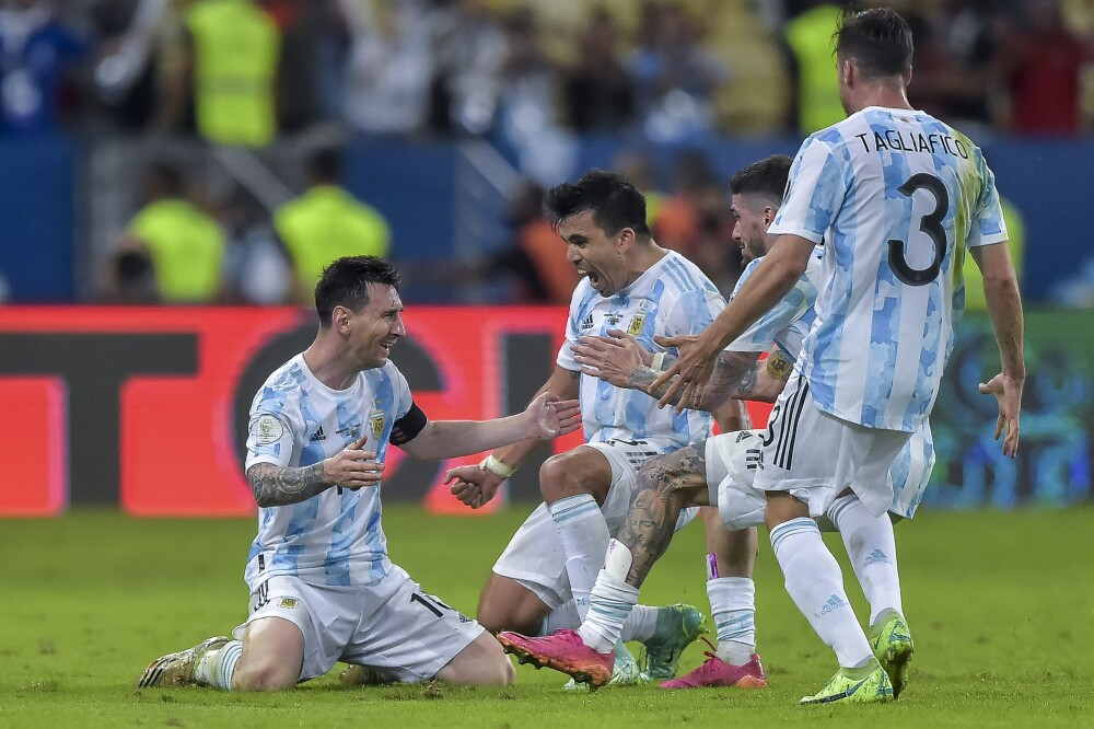 FINAL ARGENTINA X BRAZIL