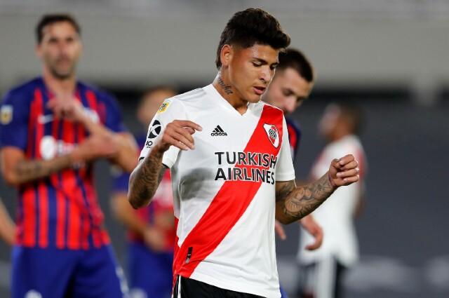 Jorge Carrascal en River Plate
