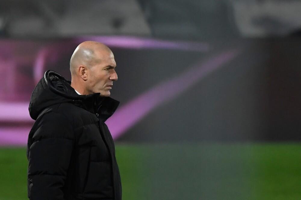 Zinedine Zidane. Foto: AFP