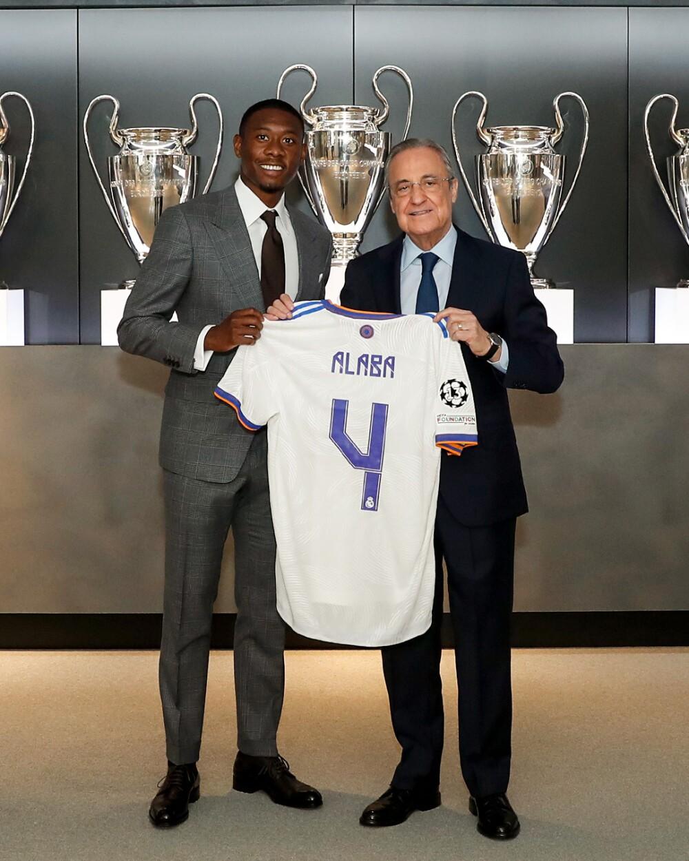 David Alaba, en la presentación como jugador del Real Madrid. @realmadrid.jpg