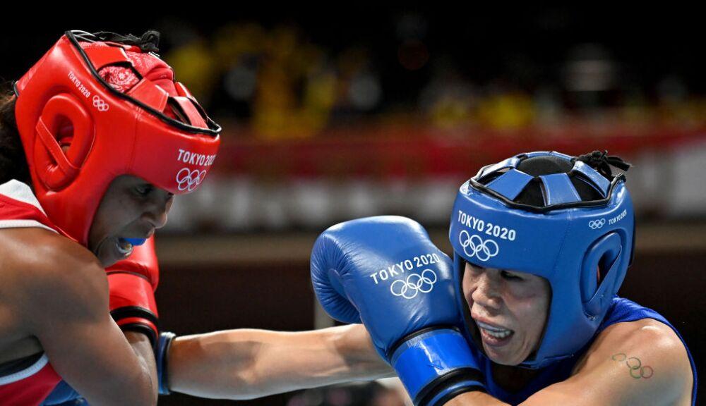 Ingrit Valencia clasificó a los cuatros de final del peso mosca del boxeo de los Juegos Olímpicos de Tokio 2020.