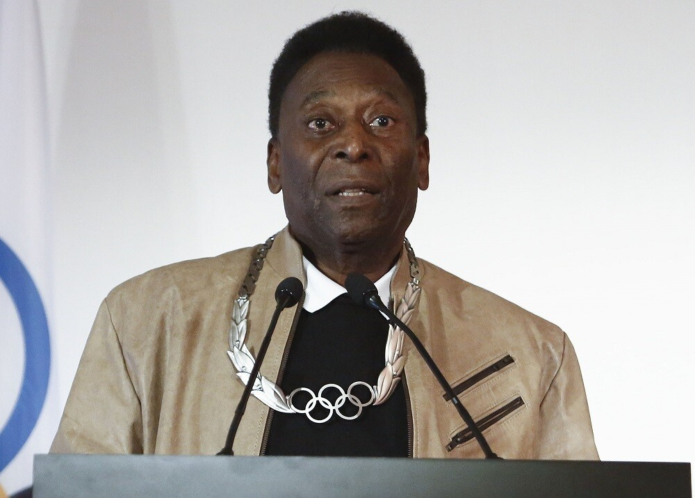 318189_BLU Radio. Pelé / Foto: AFP.
