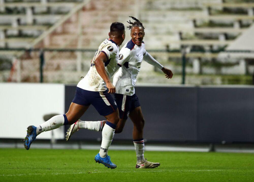 Royal Antwerp FC v Rangers FC  - UEFA Europa League Round Of 32 Leg One