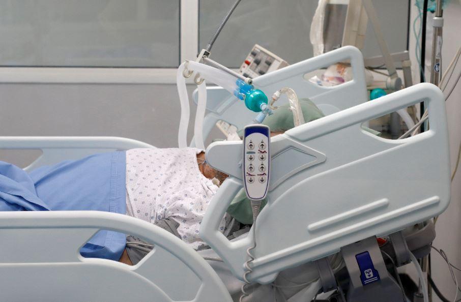375934_Paciente coronavirus // Foto: Referencia AFP