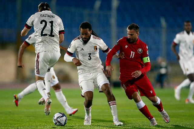 Bélgica contra Bielorrusia, en Eliminatorias Europeas