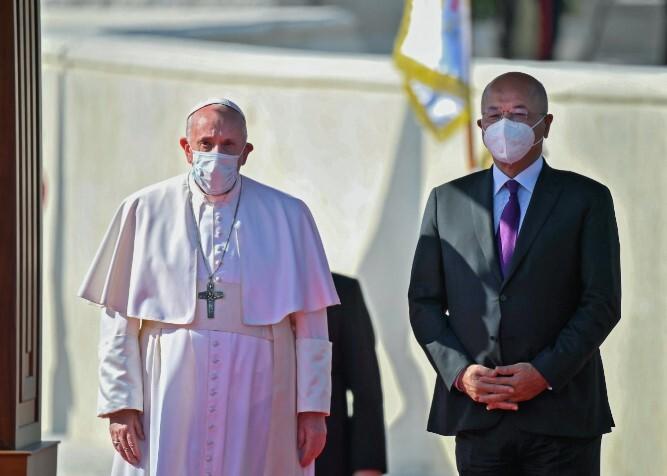 presidente iraqui- papa francisco .jpg