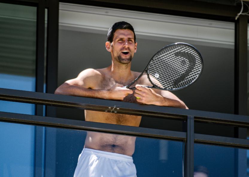 Novak Djokovic, tenista australiano.