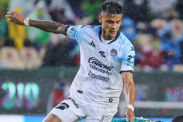 Richard Ríos, jugador de Mazatlán, en la Liga MX