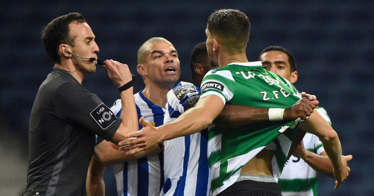 Porto, que contó con Mateus Uribe y Luis Díaz, no pudo bajar al líder: igualó 0-0 con Sporting