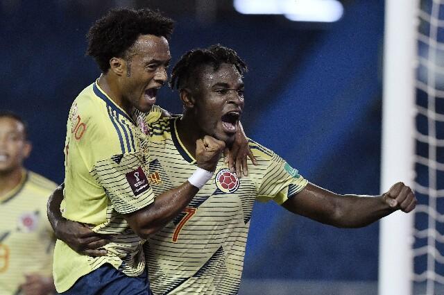 Fixture de la Selección Colombia en Copa América