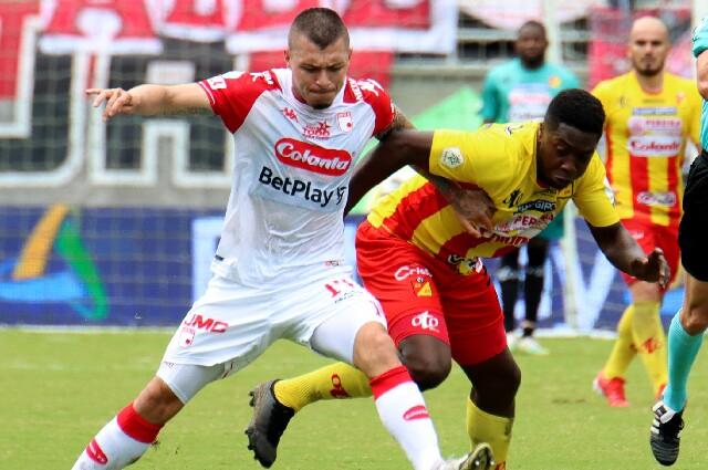 Deportivo Pereira contra Independiente Santa Fe