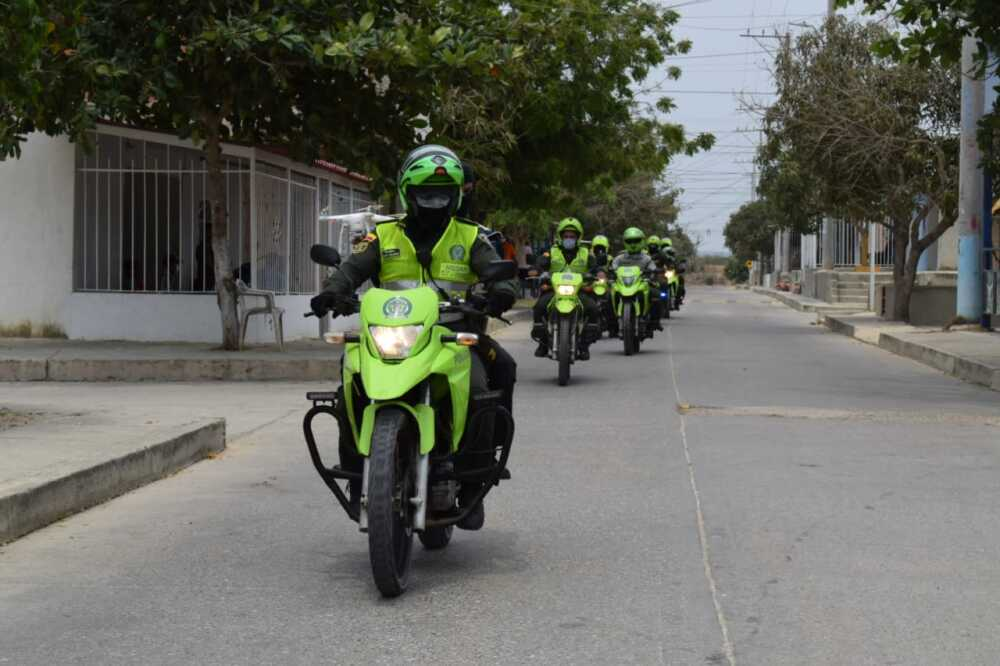 369729_Caravanas policía en Atlántico. Foto: Cortesía
