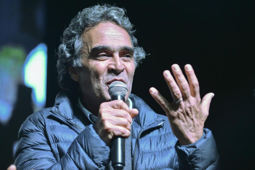 Sergio Fajardo durante las campañas presidenciales de 2018/ AFP