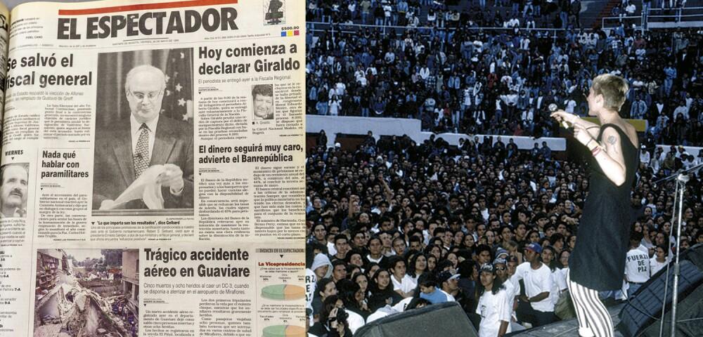 641434_Rock al Parque 1995 - Archivo El Espectador y Shock