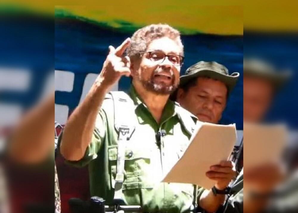 342472_BLU Radio //alias 'Iván Márquez' - discurso de reame // Foto: Captura video Youtube