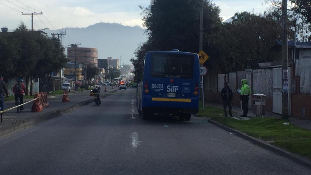 Asesinato en bus del SITP