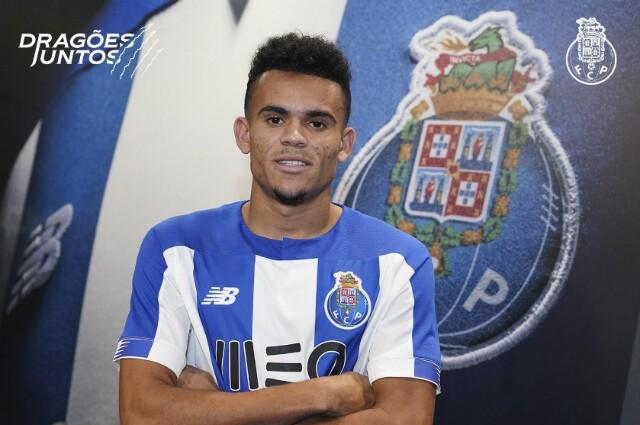 Luis Díaz, jugador del Porto de Portugal.
