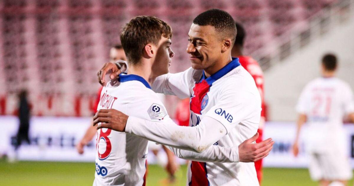 PSG no le pierde pisada al líder Lille y con goleada venció 0-4 a Dijon: Mbappé, figurón