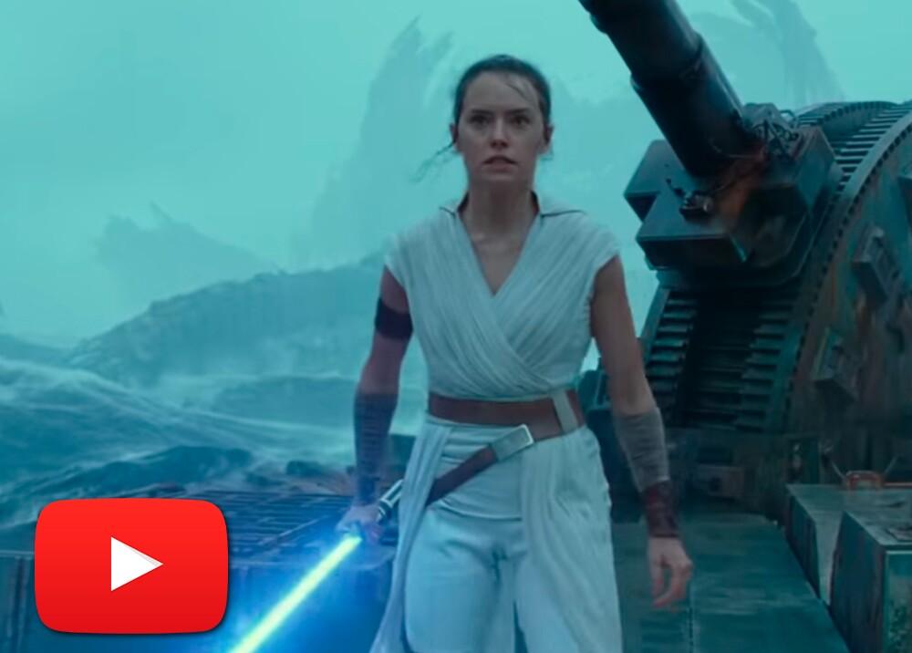 346476_Tráiler final de Star Wars: The Rise of Skywalker // Foto: captura video YouTube Star Wars