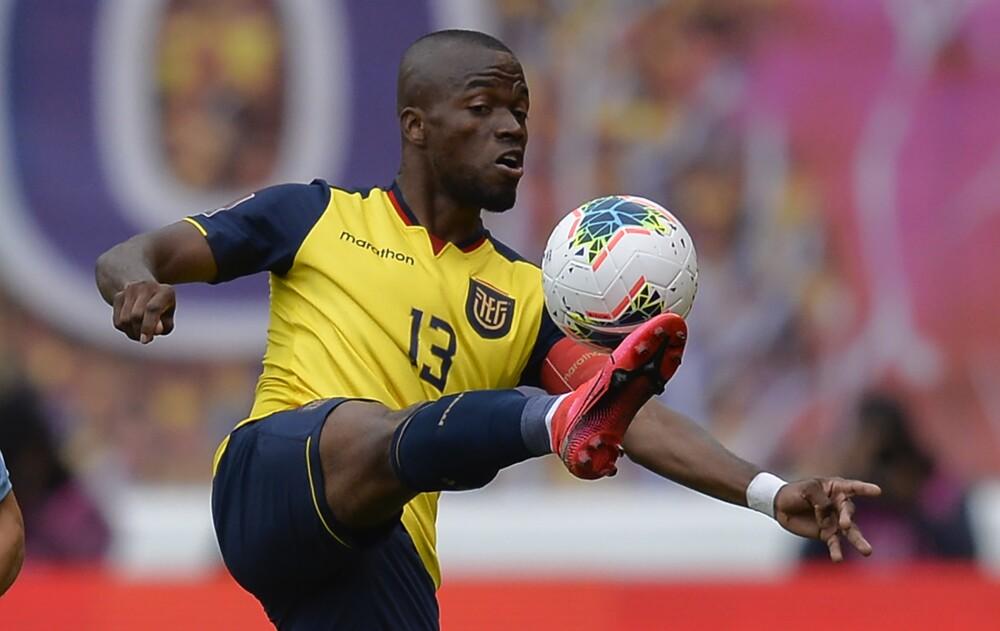 Enner Valencia, jugador Selección de Ecuador