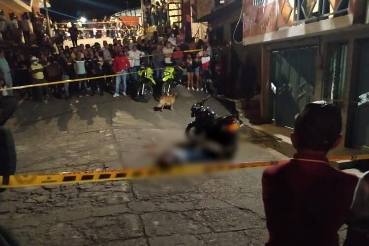 Asesinato en Cauca