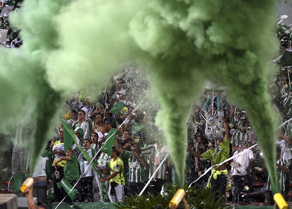308544_BLU Radio.Hinchada de Nacional//Foto: AFP