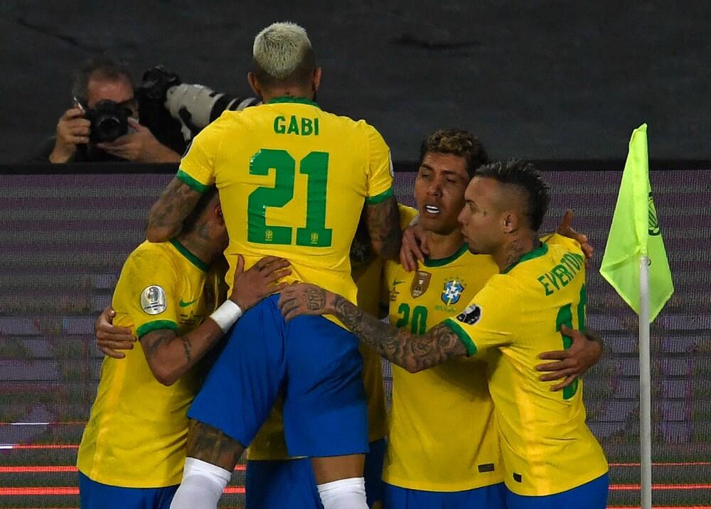 Selección Brasil Foto AFP.