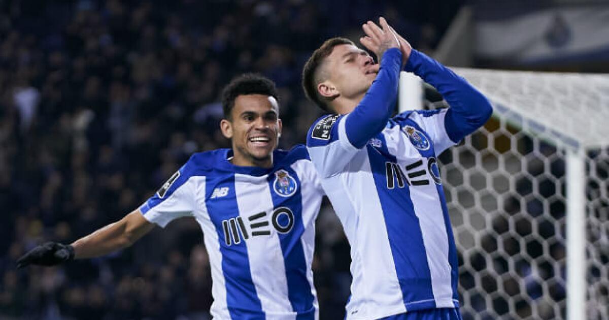 Luis Díaz y Mateus Uribe, titulares para el partidazo de Porto vs Benfica, por Liga de Portugal