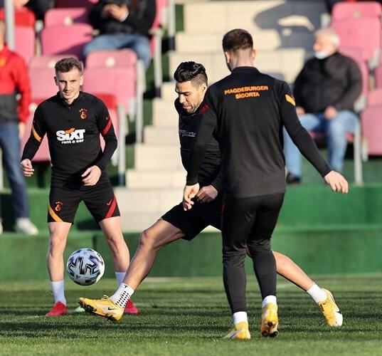 Falcao García, entrenamiento Galatasaray