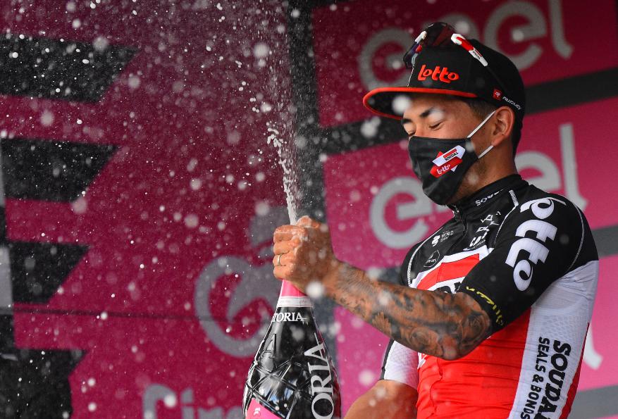 Caleb Ewan fue el ganador de la etapa 5 del Giro de Italia 2021.