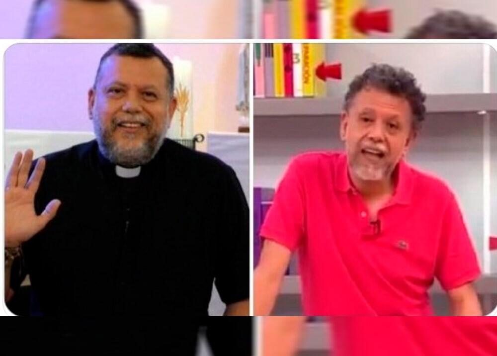 370585_Meme sobre el padre Linero // Foto: redes