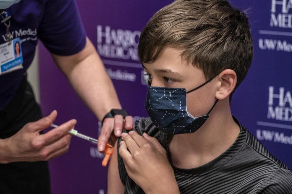 Vacunación mayores de 12 años