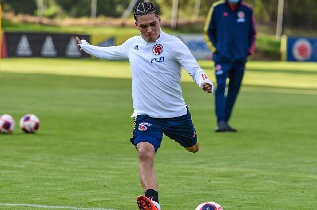 Juan Fernando Quintero, en la Selección Colombia