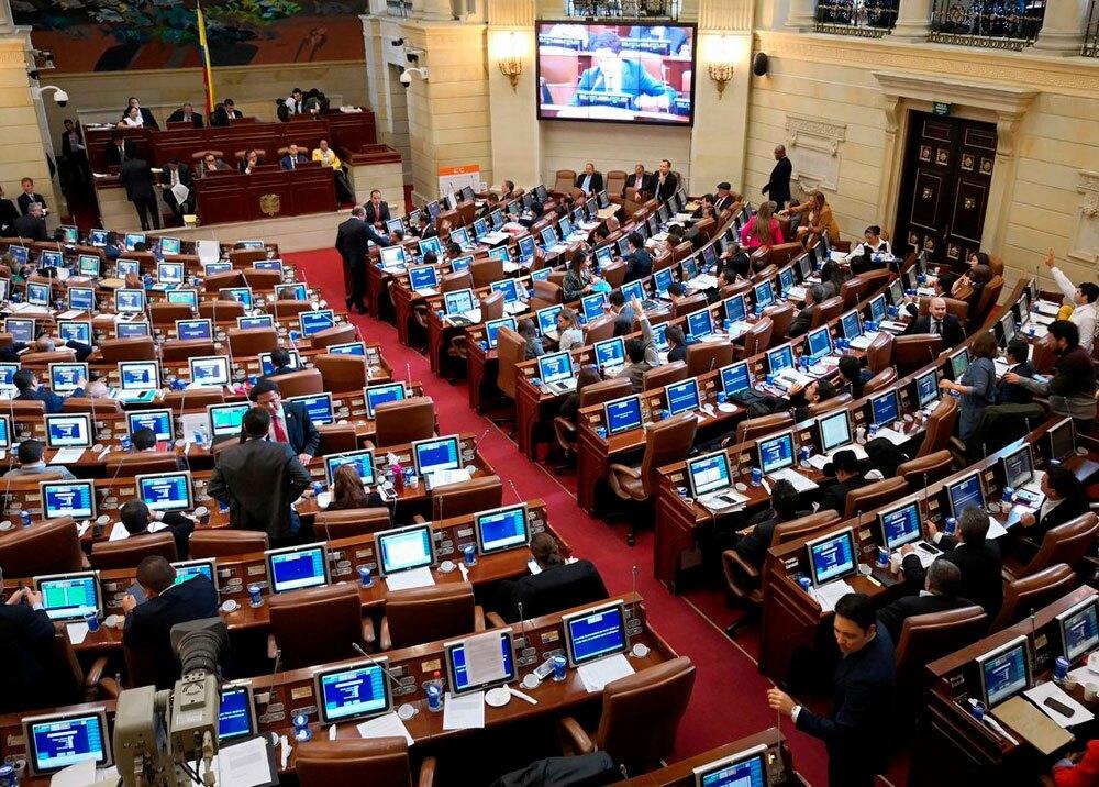 322124_BLU Radio // Congreso de la República // Foto: Twitter @Omar_Farc