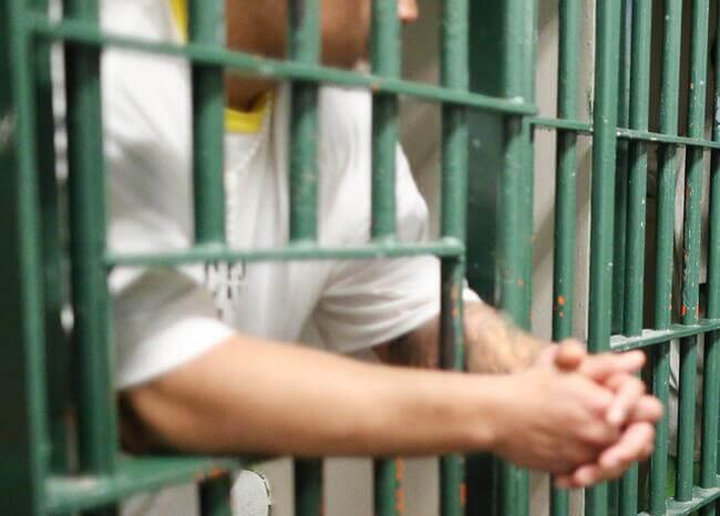 Presos. Foto: AFP