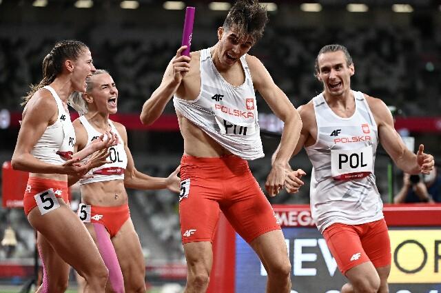 Polonia, en los Juegos Olímpicos de Tokio