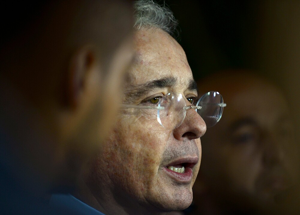 343516_Blu Radio // Álvaro Uribe // Foto: AFP